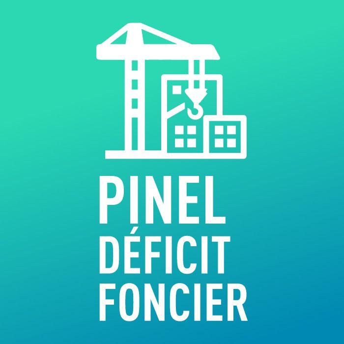 pictogramme loi Pinel déficit Foncier