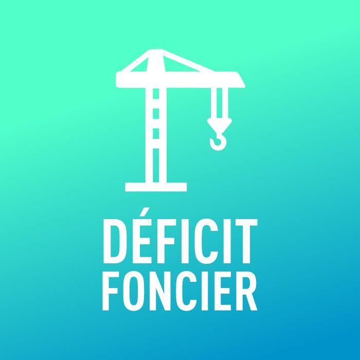 pictogramme loi déficit Foncier