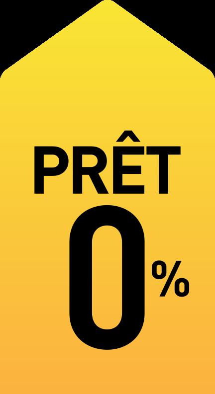 Prêt à 0%